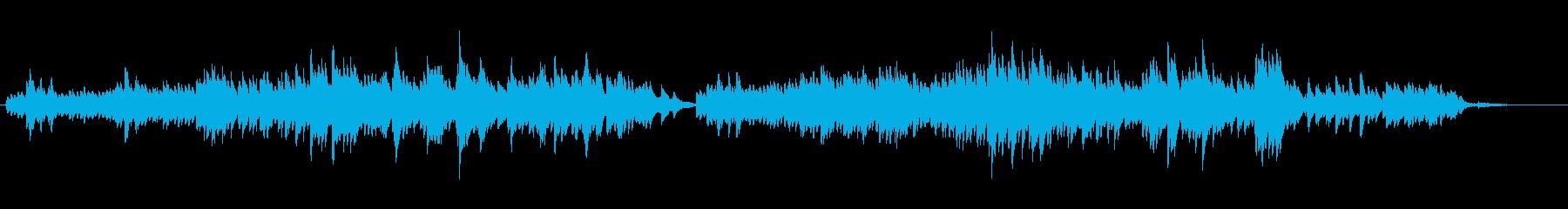 生ピアノソロ・Awakeの再生済みの波形