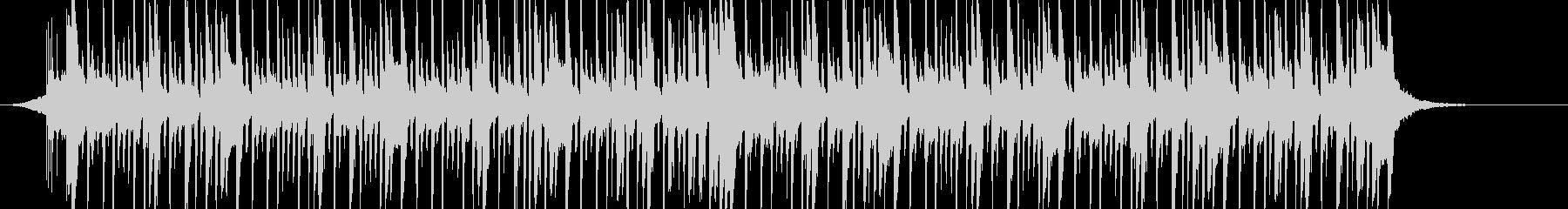 南国な感じのダンスポップの未再生の波形