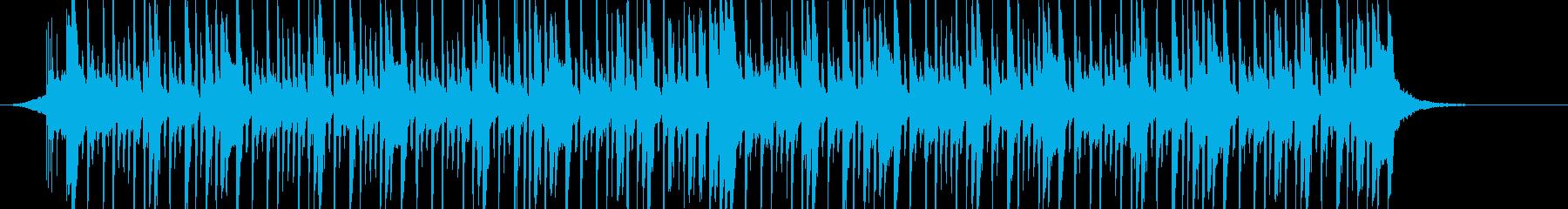 南国な感じのダンスポップの再生済みの波形