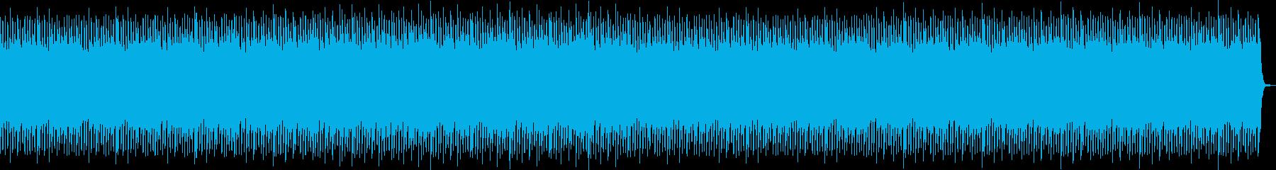学校紹介・学部紹介・優しい・ポップスの再生済みの波形