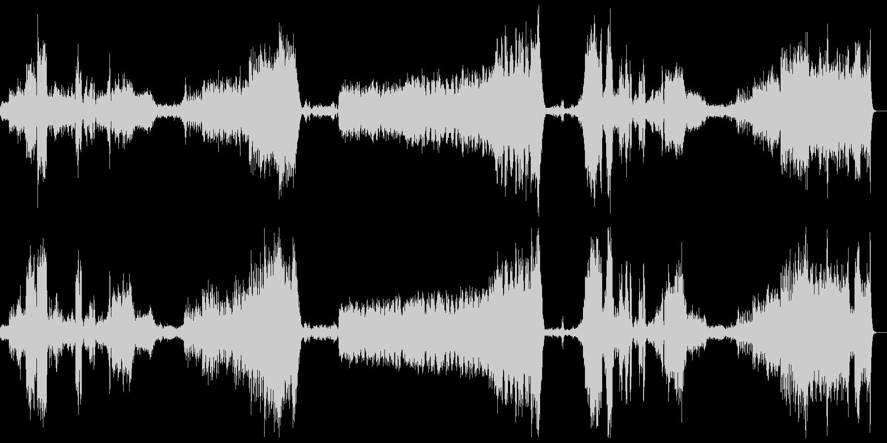 『木星』オーケストラ ホルストの未再生の波形