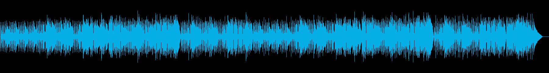 オーボエとピアノの優雅な日常系ワルツの再生済みの波形