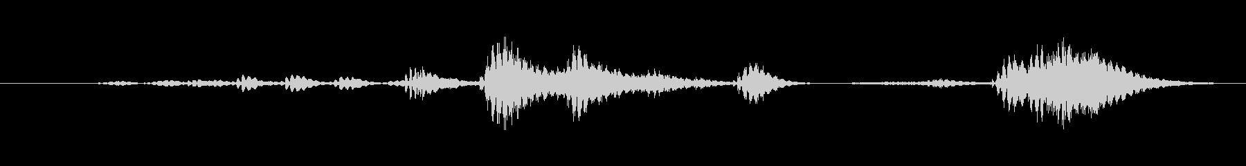 特撮 デジタルラトル03の未再生の波形