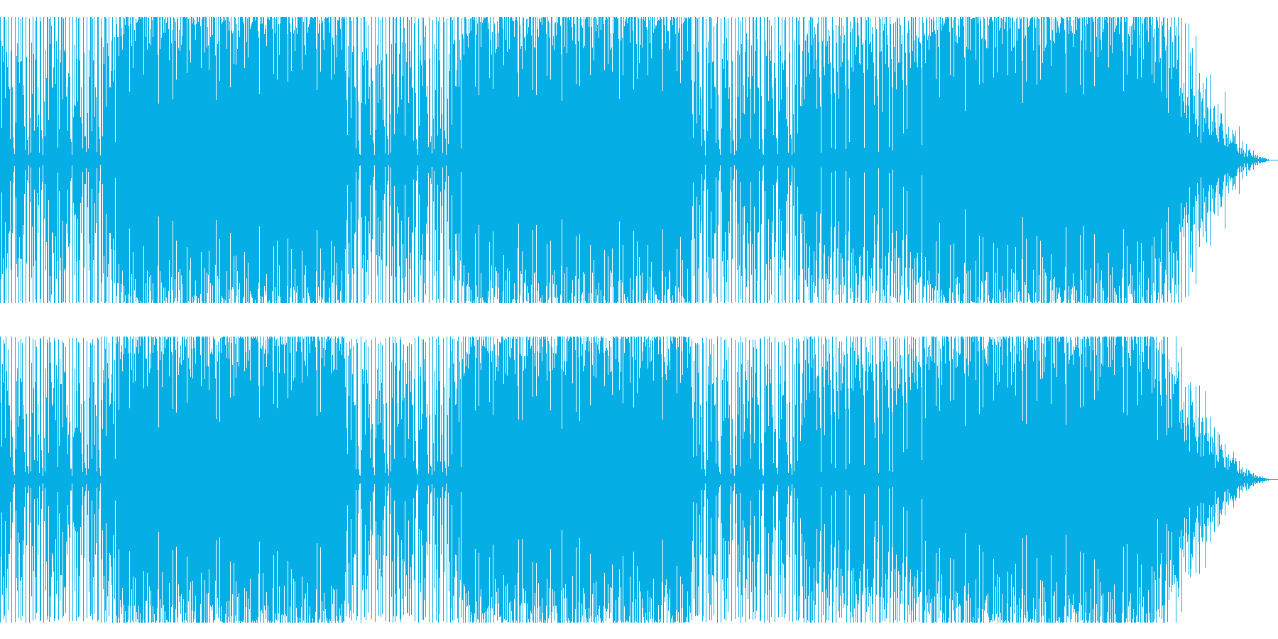 シンセウェーヴです。の再生済みの波形