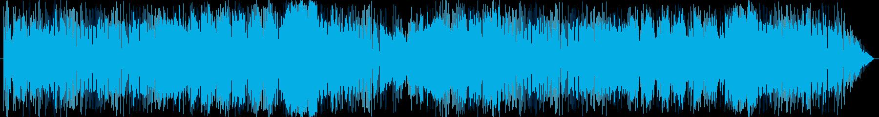 沖縄民謡てぃんさぐの花ボサノバ風の再生済みの波形