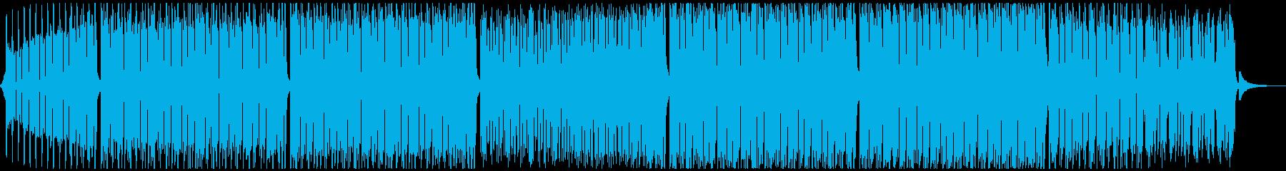 スポーツ音楽の再生済みの波形