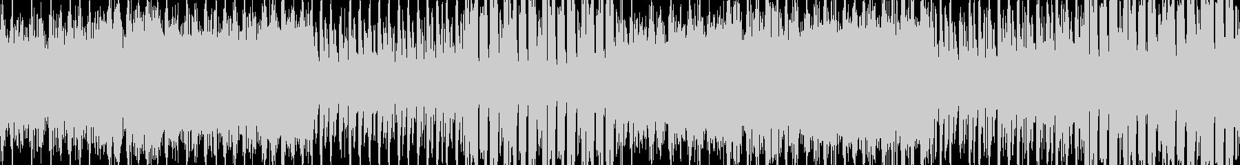 緊張感のあるEDMBGM(ループ向き)の未再生の波形