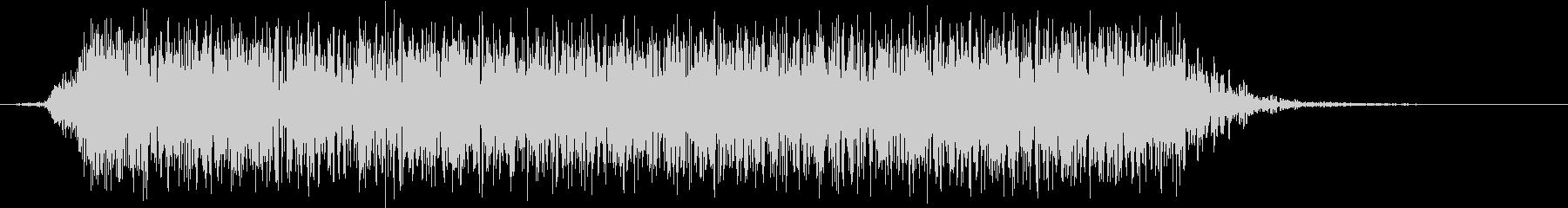 モンスター 悲鳴 41の未再生の波形