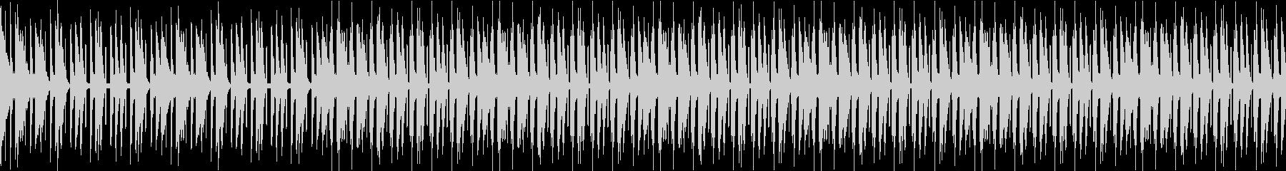 陶酔感のあるシンセが特徴的なスローテクノの未再生の波形