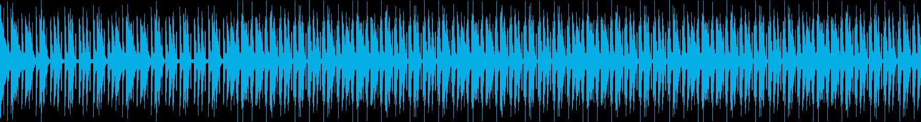 陶酔感のあるシンセが特徴的なスローテクノの再生済みの波形