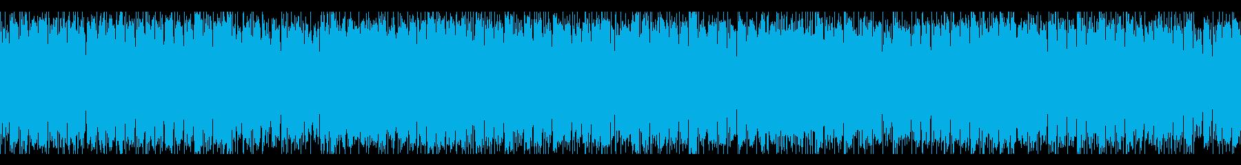 ゆったりとしたSynthWaveの再生済みの波形