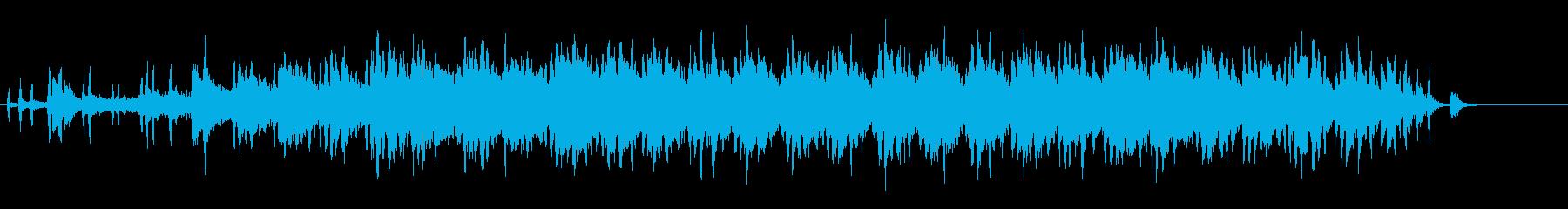 環境音楽水深1万メートル風の再生済みの波形
