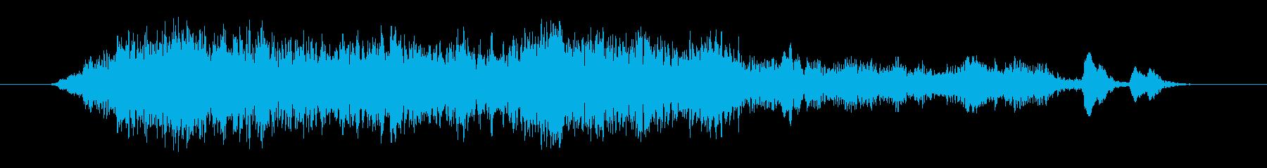 群集 チアハッピーショート04の再生済みの波形