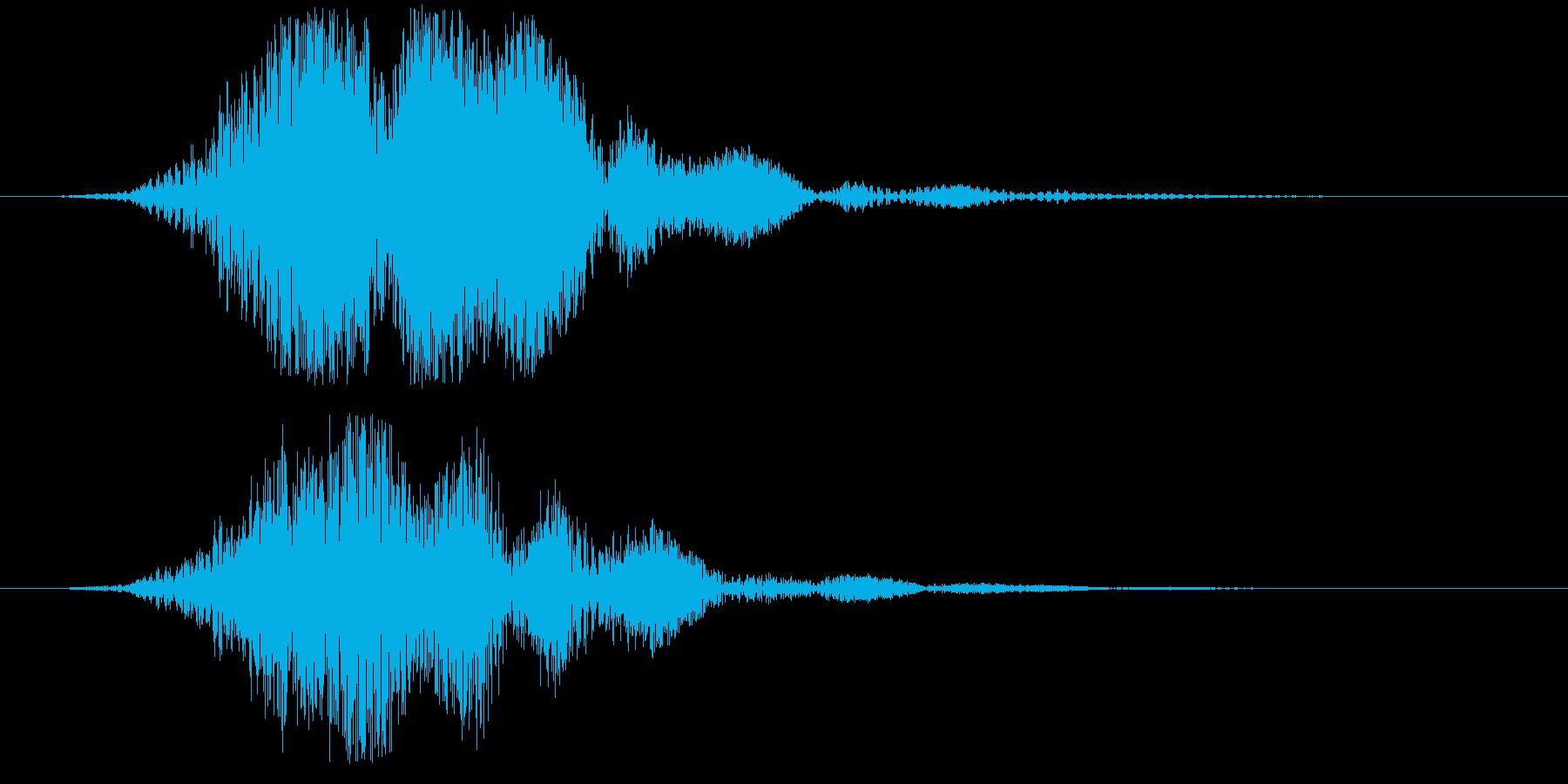 【SF】【SCI-FI】ヒューンッ・・・の再生済みの波形
