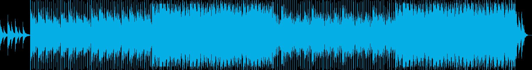 明るく落ち着きのあるギターポップの再生済みの波形