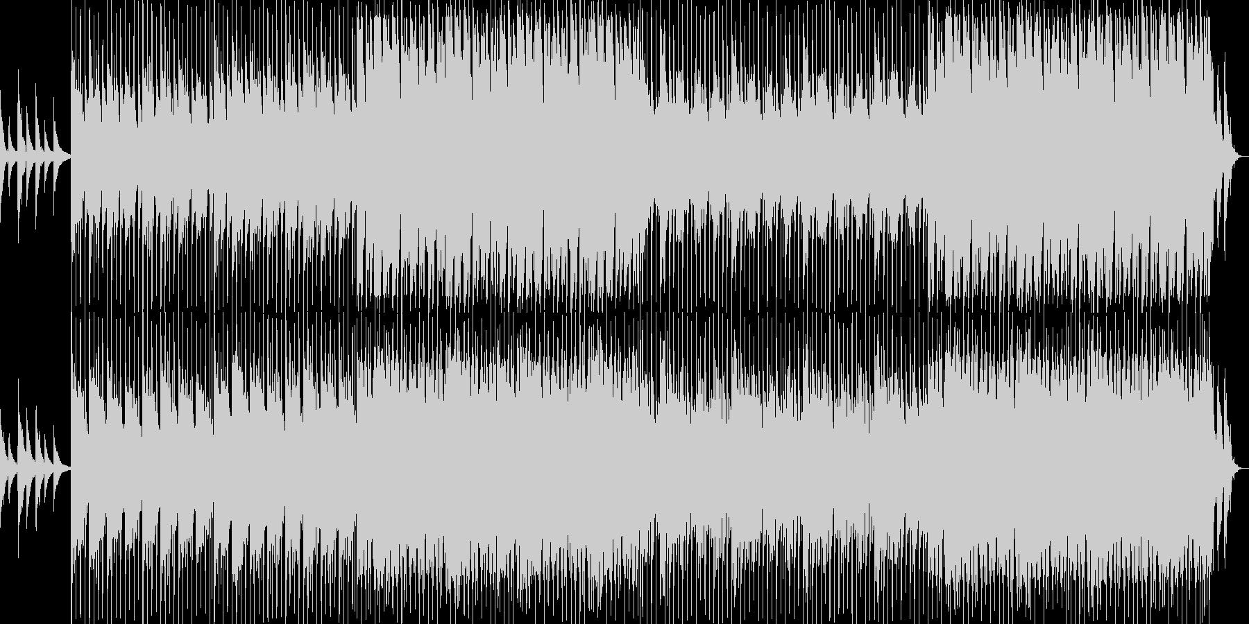 明るく落ち着きのあるギターポップの未再生の波形