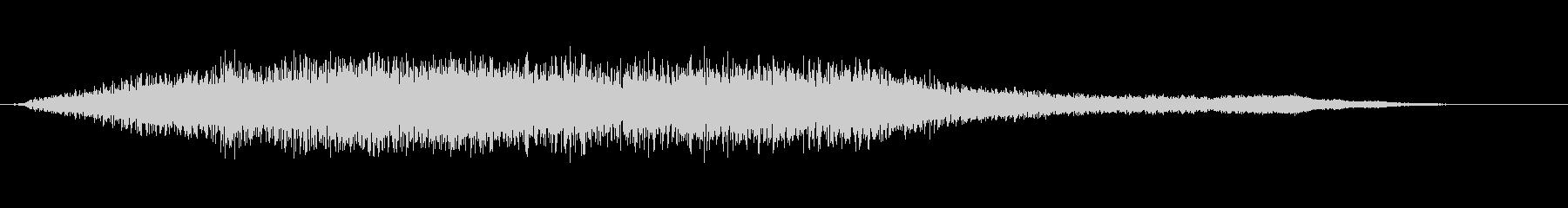 素材 大気ドローンパッドディープ02の未再生の波形