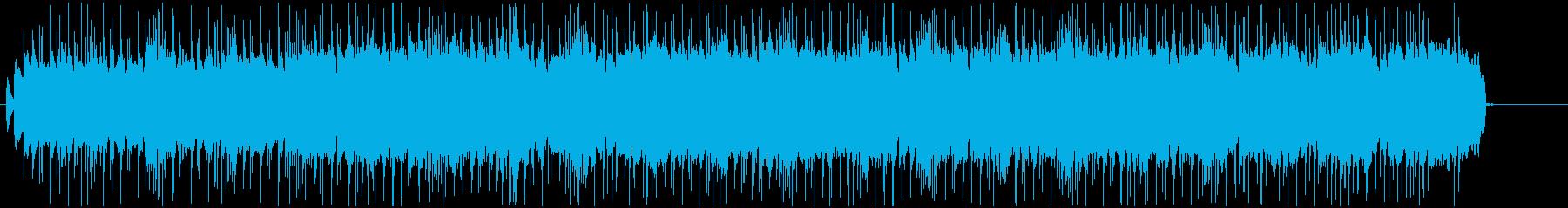 トラブルが迫ってくる不気味なハードロックの再生済みの波形