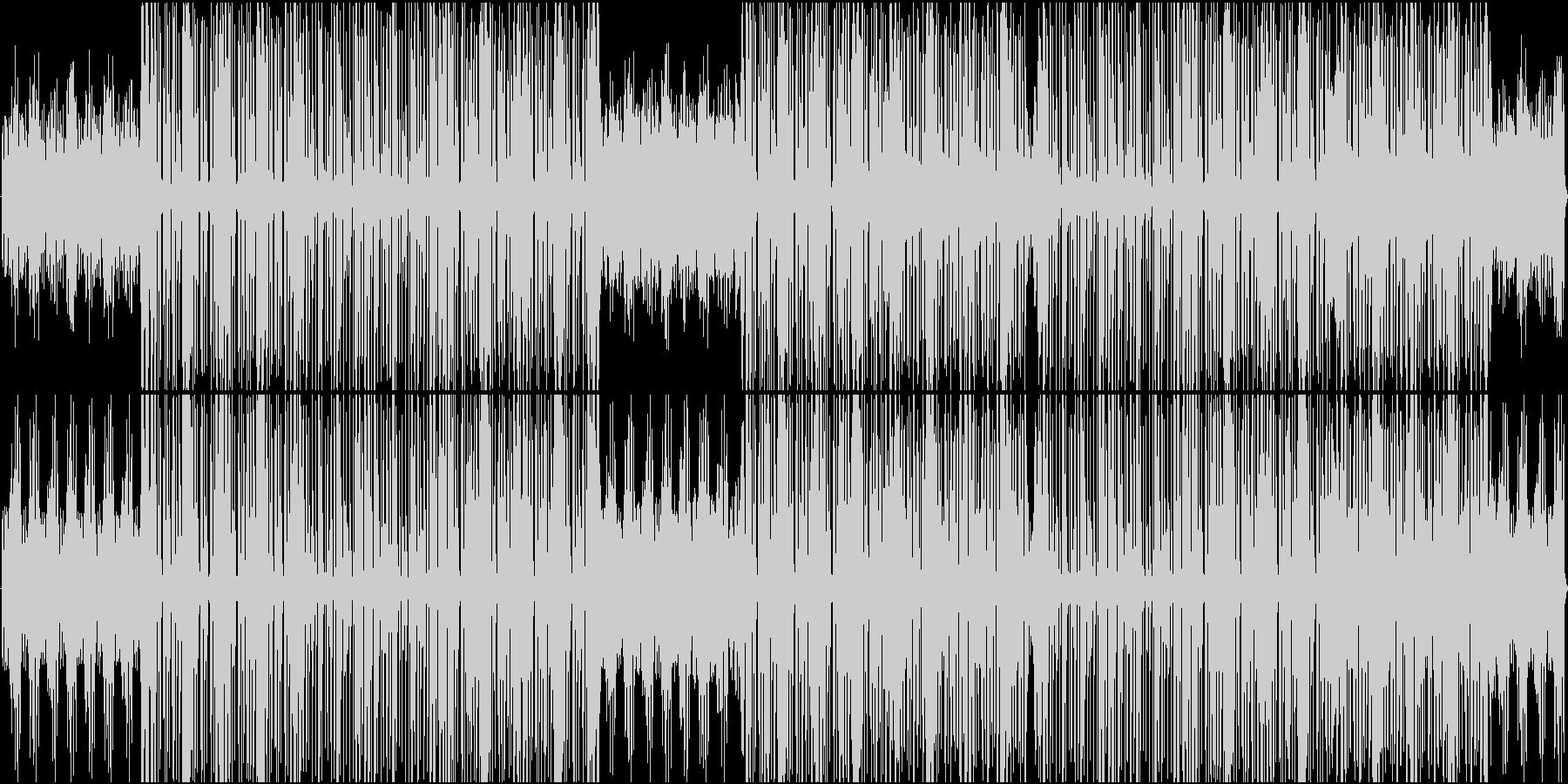 ラテンダンスミュージックの未再生の波形