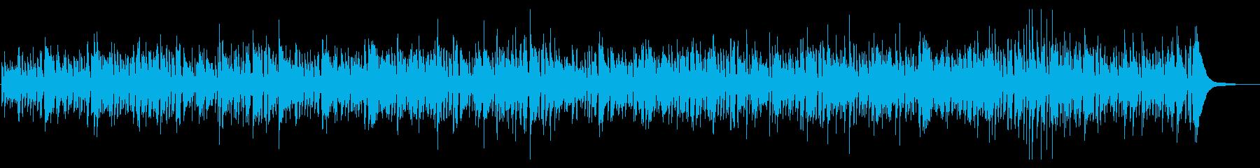 爽やかかわいいボサノバの再生済みの波形