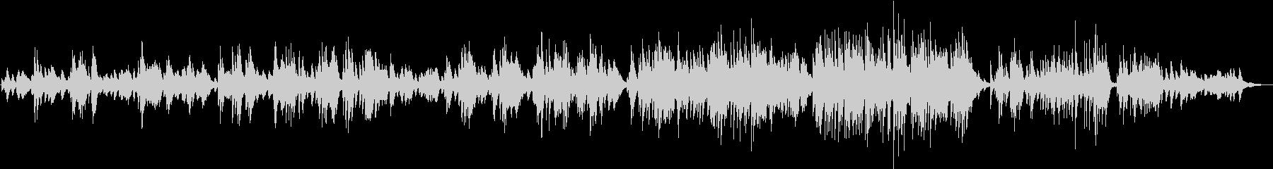 ロンドンデリーの歌のジャズピアノアレンジの未再生の波形