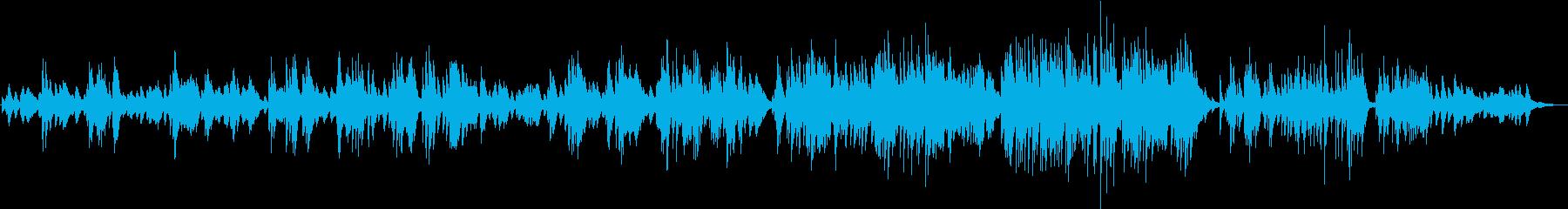 ロンドンデリーの歌のジャズピアノアレンジの再生済みの波形