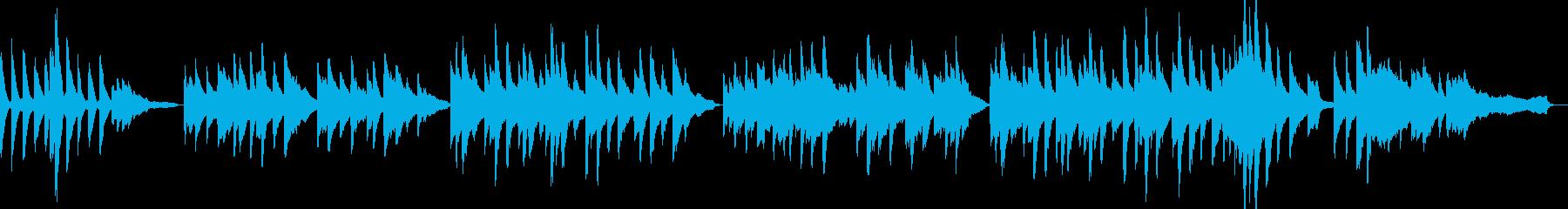 「ふるさと」ピアノアレンジ リバーブ足しの再生済みの波形