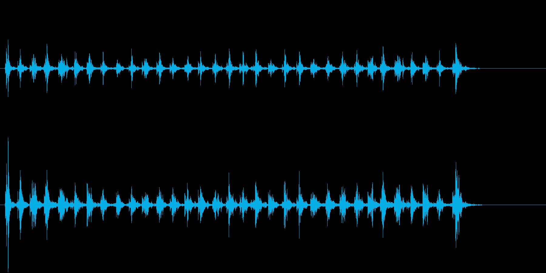 Xmasに最適トナカイベルのループ音10の再生済みの波形