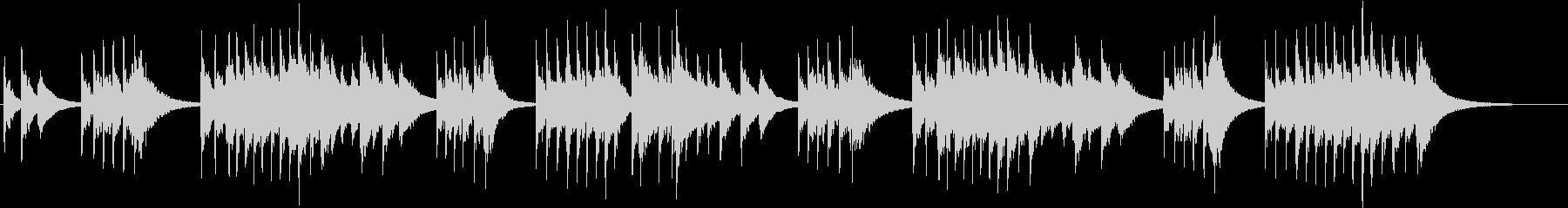 トロイメライ シンセオルゴールverの未再生の波形
