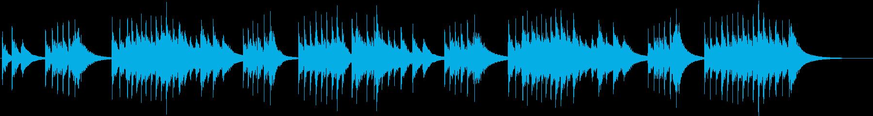 トロイメライ シンセオルゴールverの再生済みの波形