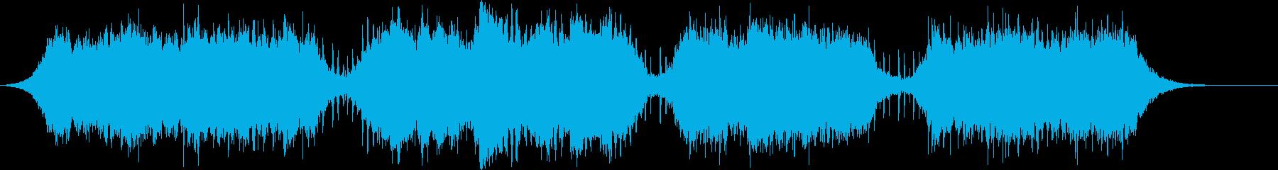 アンビエントなパッド系BGM(シンプル)の再生済みの波形
