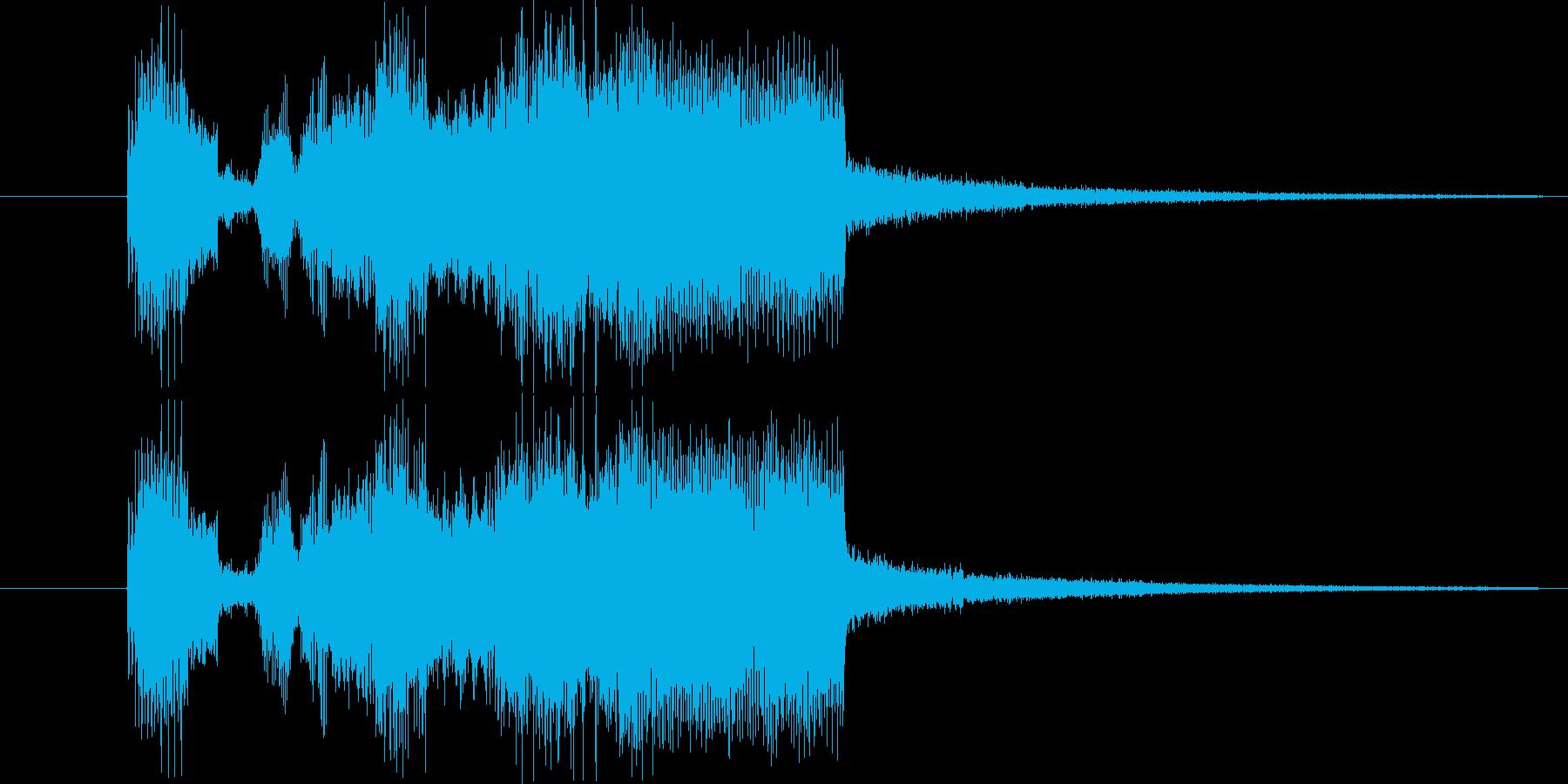 ギター(ディストーション)音の、ゲーム…の再生済みの波形