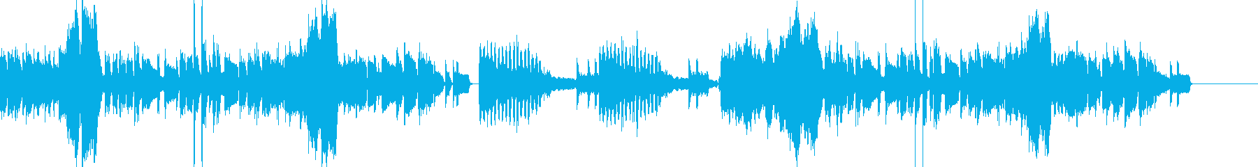ガジェットCM に似合うそうな曲ですの再生済みの波形