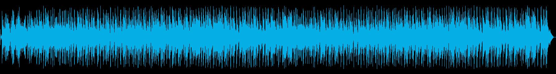 ソフトドラムとベース、素敵なピアノ...の再生済みの波形