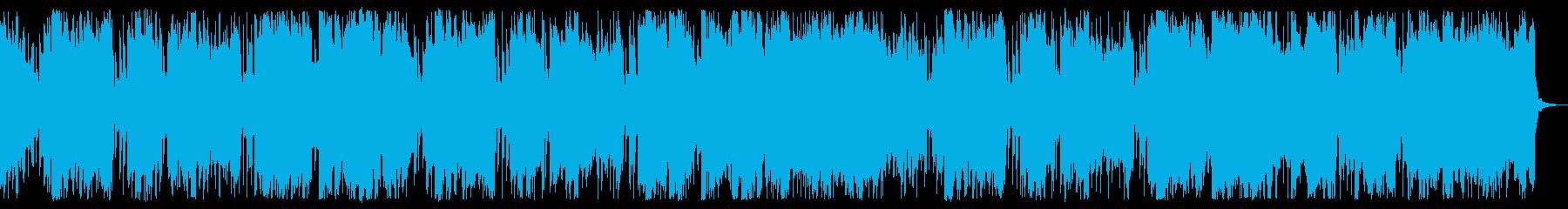 スローでアンニュイなチップチューンの再生済みの波形