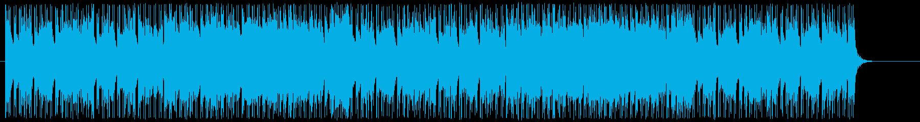 楽しい感じ、ポップな曲。ループ可。の再生済みの波形