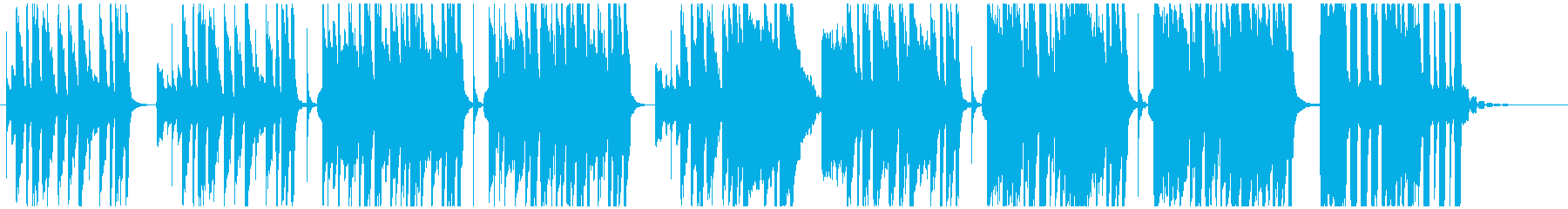 間の抜けた失敗をしたコミカルなBGMの再生済みの波形