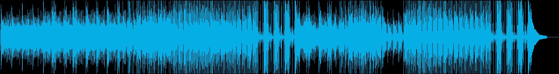 企業VPや映像に美しく感動的ピアノジャズの再生済みの波形