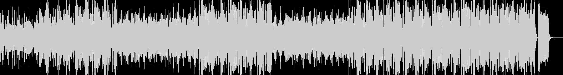 ノリの良いビッグバンドスイングジャズの未再生の波形