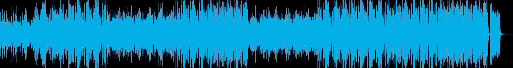 ノリの良いビッグバンドスイングジャズの再生済みの波形