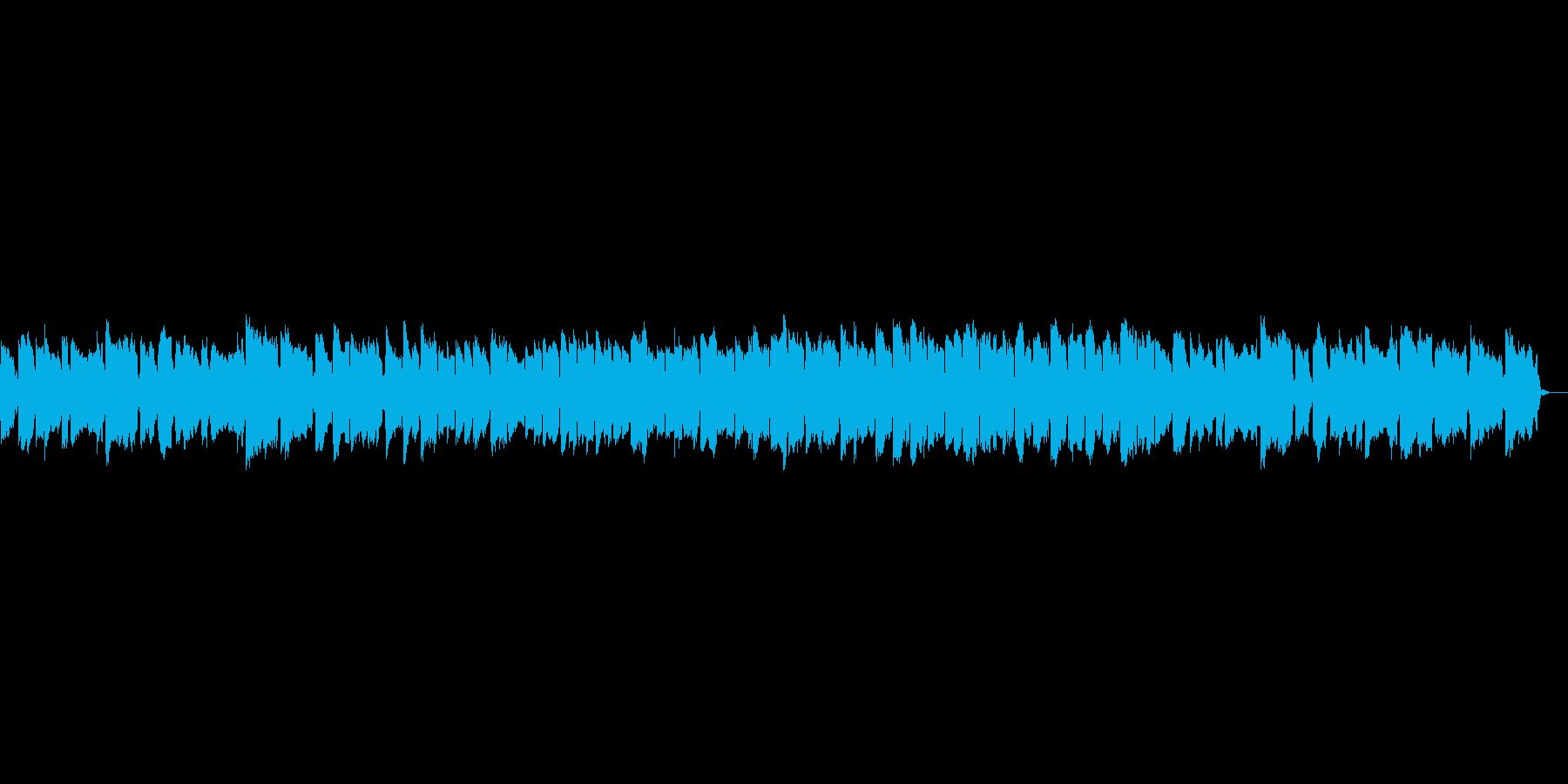 かわいらしいオルゴールの再生済みの波形