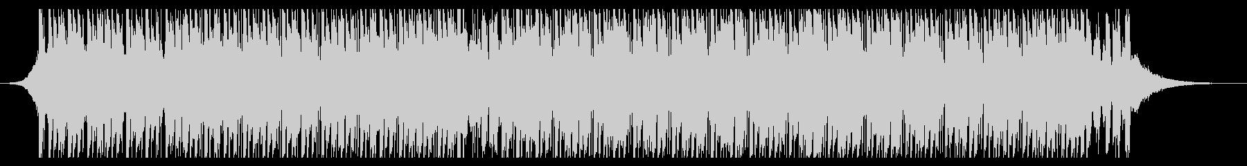ダンス(60秒)の未再生の波形