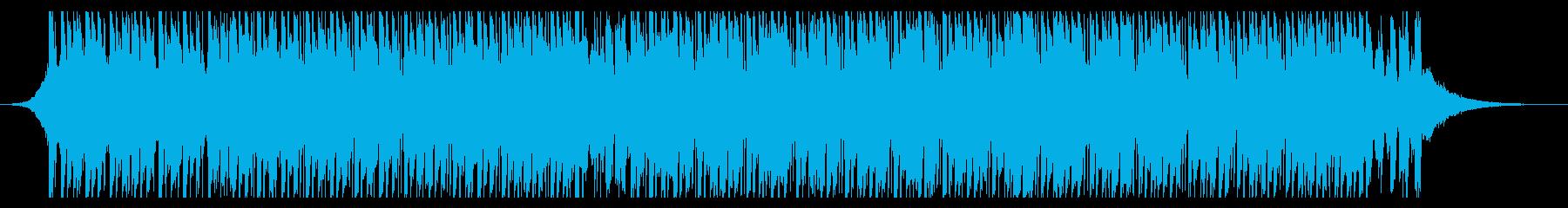 ダンス(60秒)の再生済みの波形