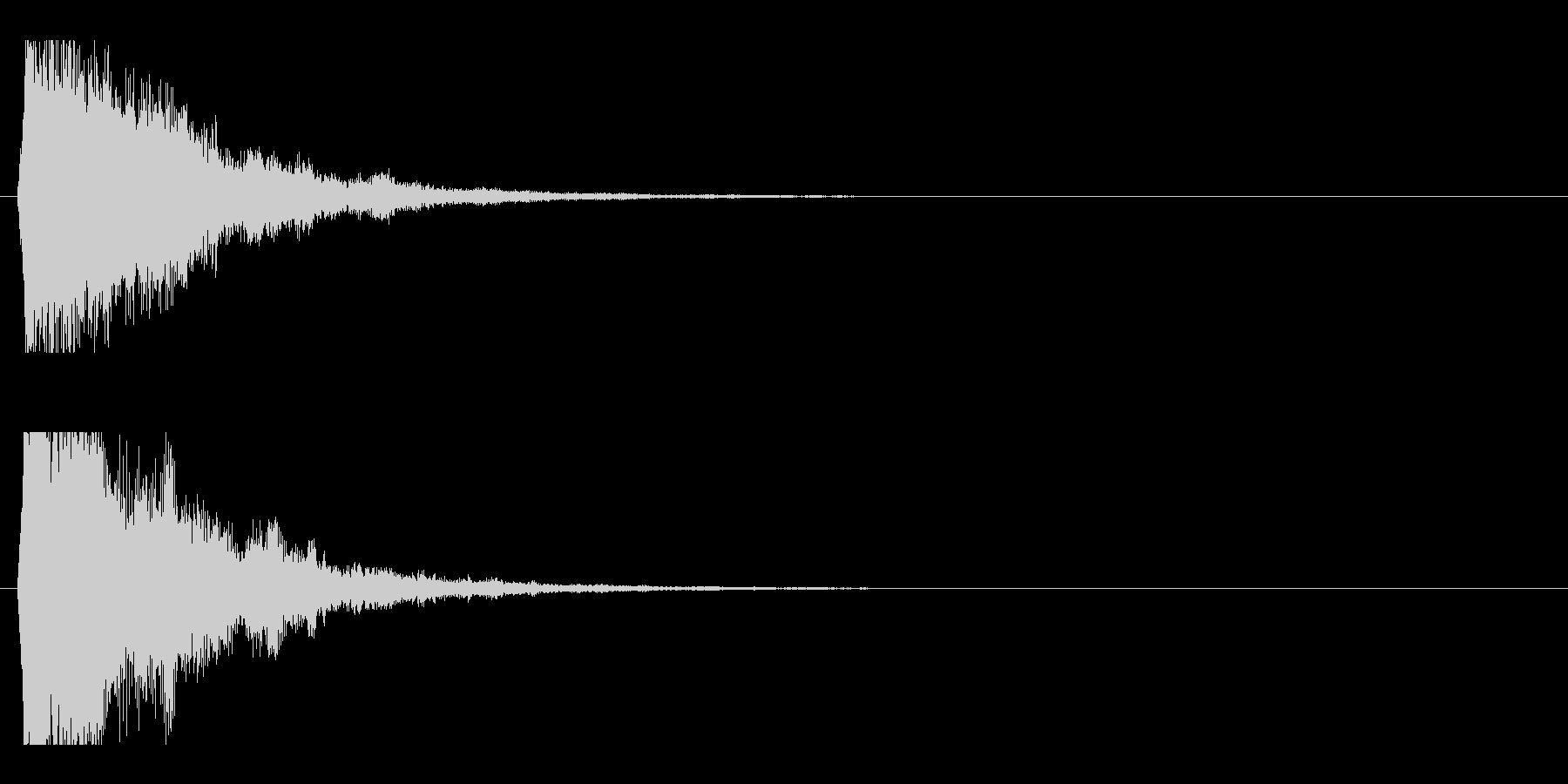 レーザー音-49-2の未再生の波形