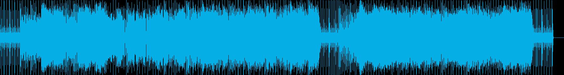 キュートなポップスです。の再生済みの波形