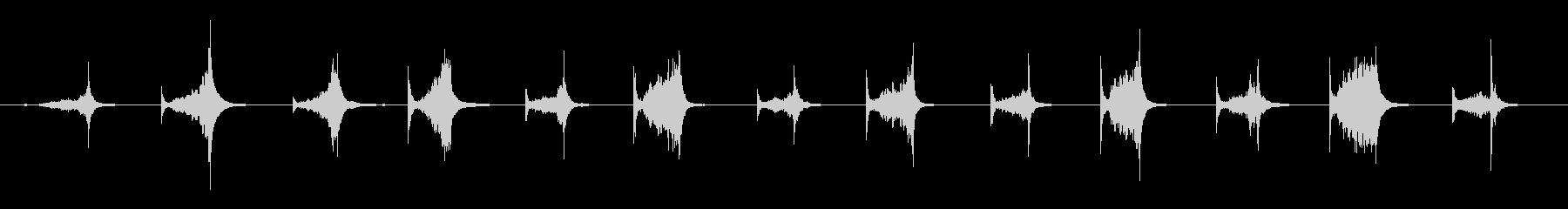 ブッチャーズナイフ:スチール、キッ...の未再生の波形