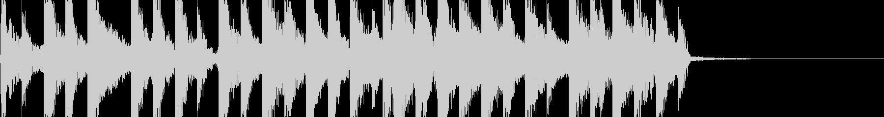 ドタバタコミカルパーカッションジングルの未再生の波形