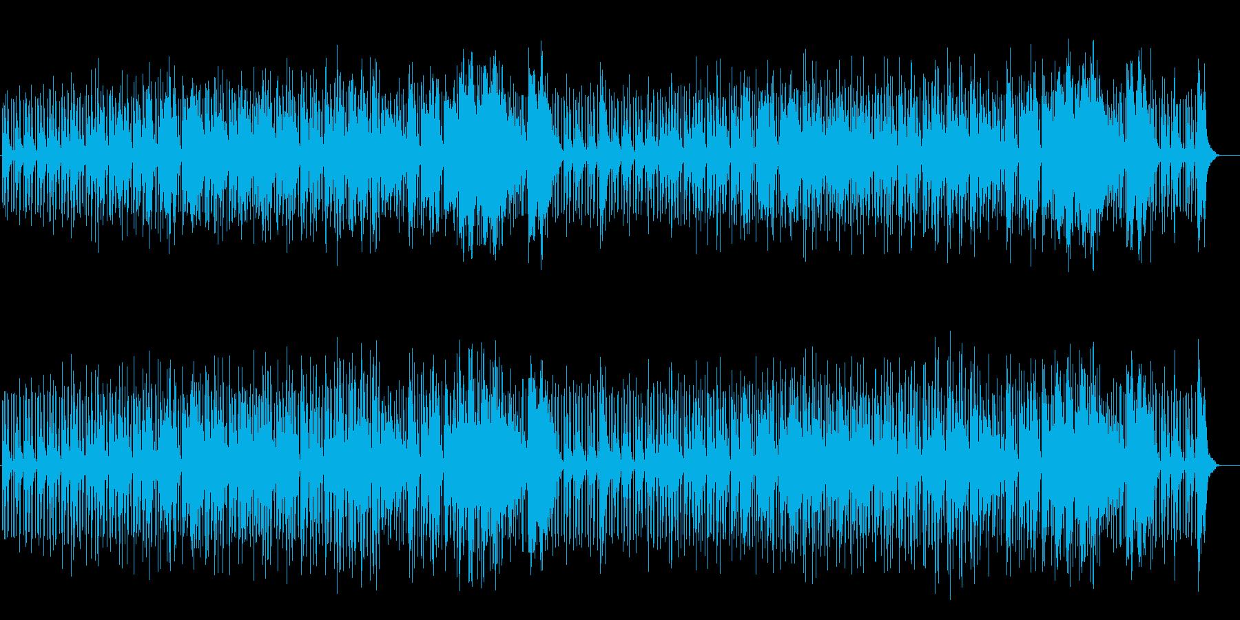 エレクトリックなアジア風サウンドの再生済みの波形