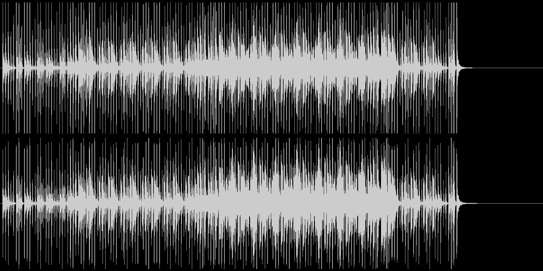 軽快な雰囲気のBGMです。の未再生の波形