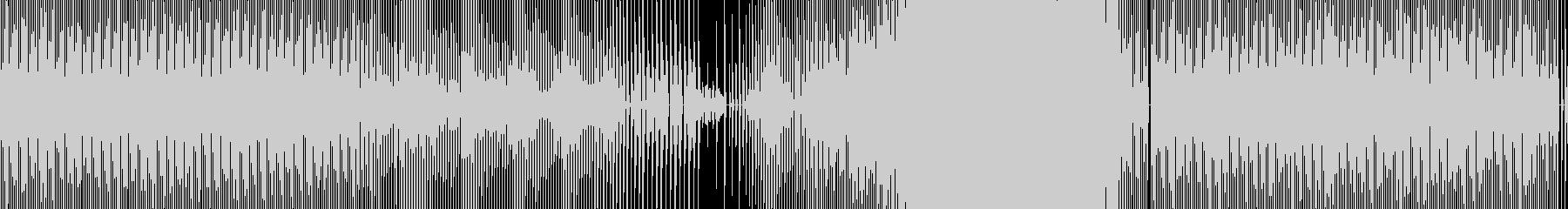 実験的。リズムのみ。の未再生の波形